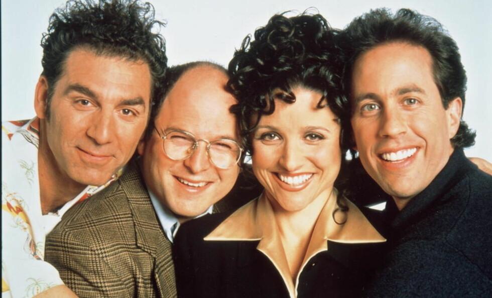 SEINFELD: Festivus-feiringen opptrer bare i en eneste episode av Seinfeld, som gikk i ni sesonger. Foto: SCANPIX
