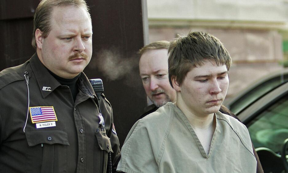 VENTER PÅ ANKESAK: Brendan Dassey, kjent fra tv-serien «Making a murderer», løslates fra fengsel i påvente av ankesak. Foto: Morry Gash / AP