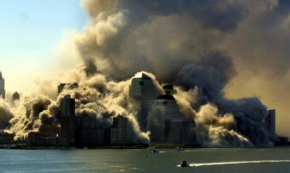 TERRORANGREPET: Slik 90-tallet for alltid vil bli husket for Sovjetunionens sammenbrudd, vil 00-tallet bli husket for terrorangrepet 11. september 2001. Foto: SCANPIX