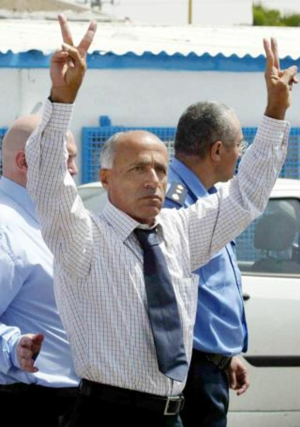 ARRESTERT: Mordechai Vanunu ble løslatt i 2004, men er nektet kontakt med utlendinger samt utreise fra Israel. Mandag ble Vanunu og hans norske kjæreste, bibelforskeren Kristin Joachimsen, arrestert på et hotell i Jerusalem. Foto: SCANPIX