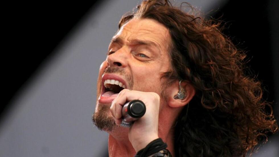 GJENFORENER GAMLEBANDET: Vokalist Chris Cornell, som ikke har hatt all verdens hell med sin solokarriere. Foto: SCANPIX/ EPA/VALERIE KUYPERS