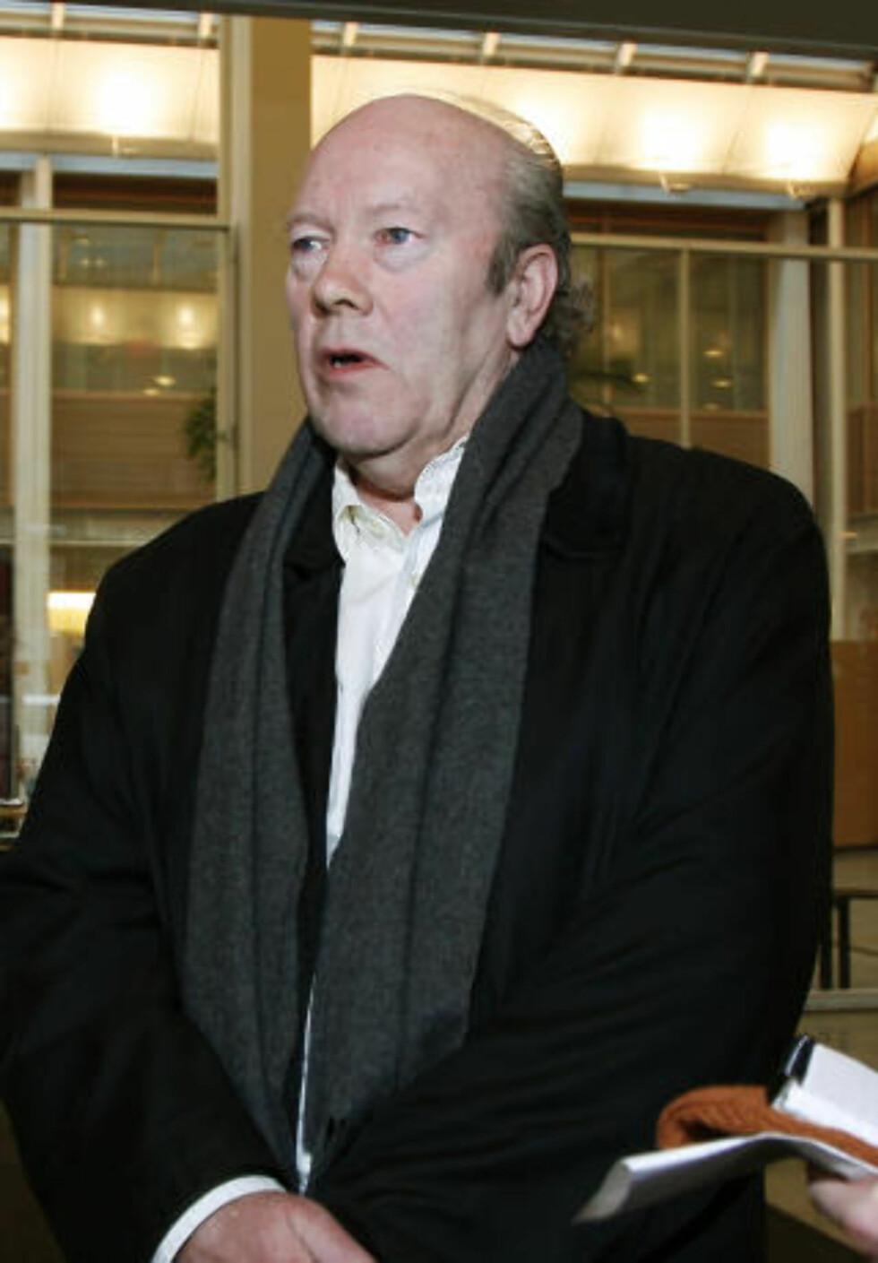 <strong>FORNØYD:</strong>  - Dagens ordning er utmerket, mener Nils Øy, generalsekretær i Redaktørforeningen. Foto: Steinar Buholm