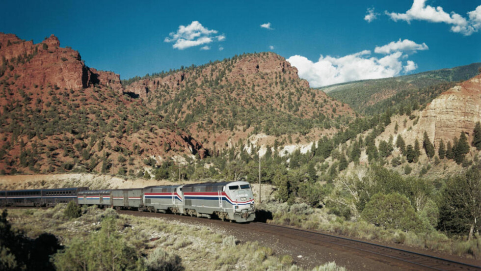TOGET: Den tredagers reisen  med California Zephyr fra Chicago til San Francisco er USAs flotteste togreise.   Foto:Amtrak