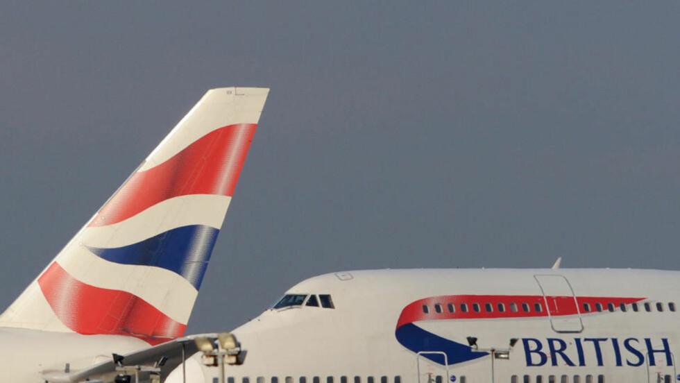 SPESIELLE BARNEREGLER:  Britisk rett skal avgjøre om Britisk Airways kan nekte voksne menn å sitte ved siden av barn som reiser alene. FOTO: REUTERS/SCANPIX.