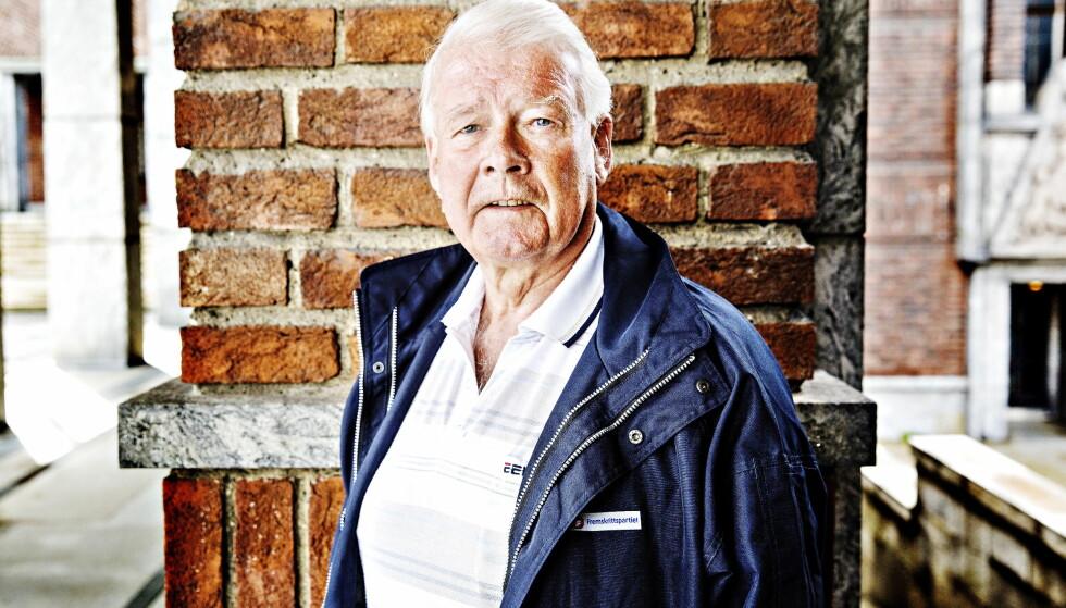 MOT COMEBACK: Carl I. Hagen (72). Foto: Nina Hansen / Dagbladet
