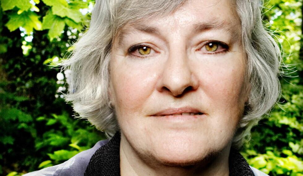 GRUER SEG:  Nina Karin Monsen gleder seg til å få prisen, men ikke til prisutdelingen. Foto:  Anniken C. Mohr/Dagbladet