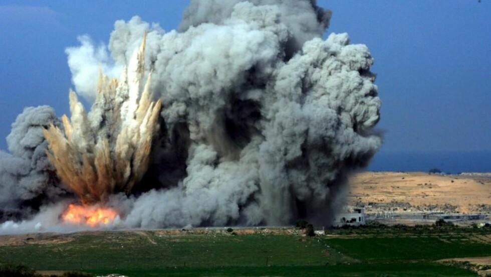 BOMBET GAZA-STRIPEN: Gaza-stripen ble utsatt for omfattende bombing under krigen som Israel dømte Operation Cast Lead. Nå møter landet kraftig kritikk fra FN for krigføringen. Foto: EPA/PAVEL WOLBERG/Scanpix
