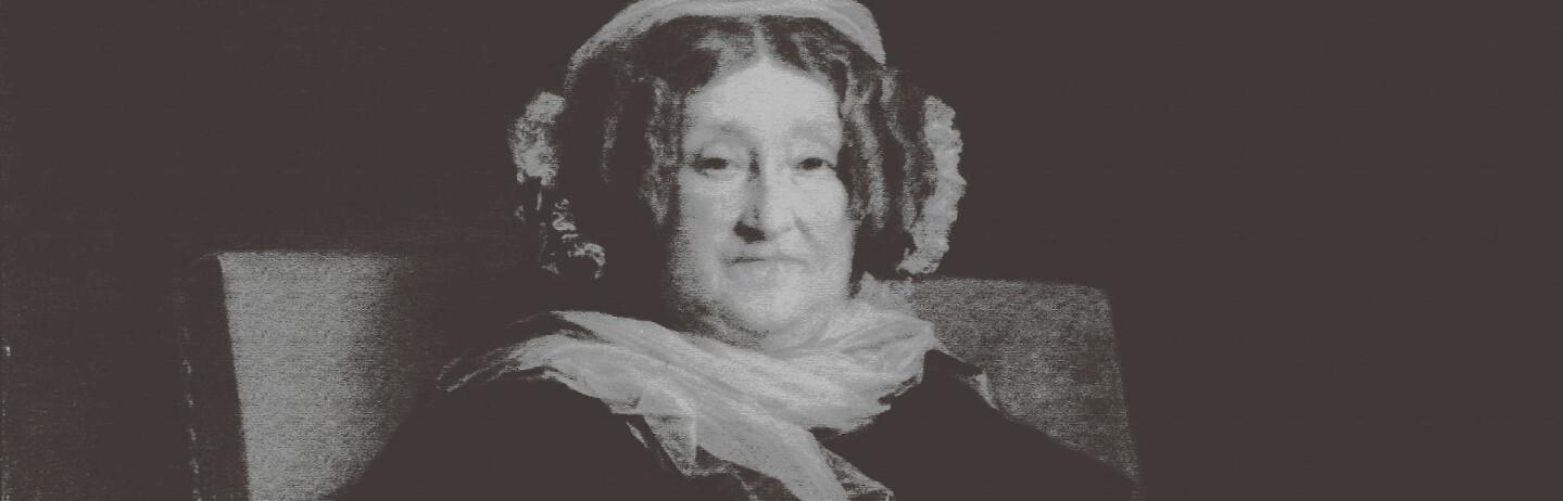 CHAMPAGNENS BESTEMOR: Madame Clicquot gjorde champagne til en internasjonal suksess, og revolusjonerte produksjonen. Maleri fra privat samling / NTB Scanpix