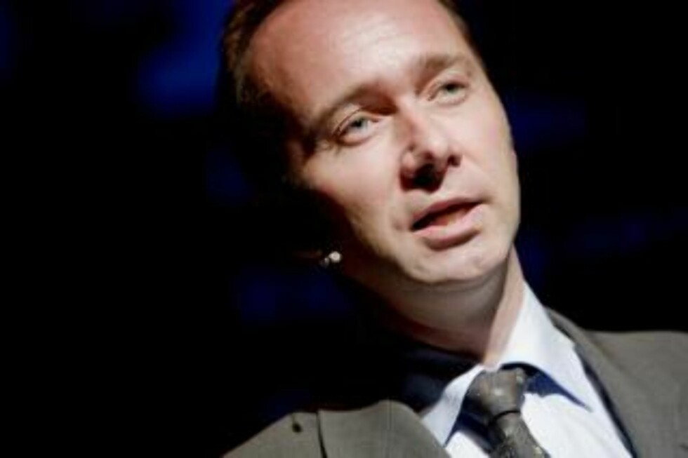 KJØPER: Kulturminister Trond Giske kjøper sendetid på Frikanalen. Foto: Stian Lysberg Solum / SCANPIX .