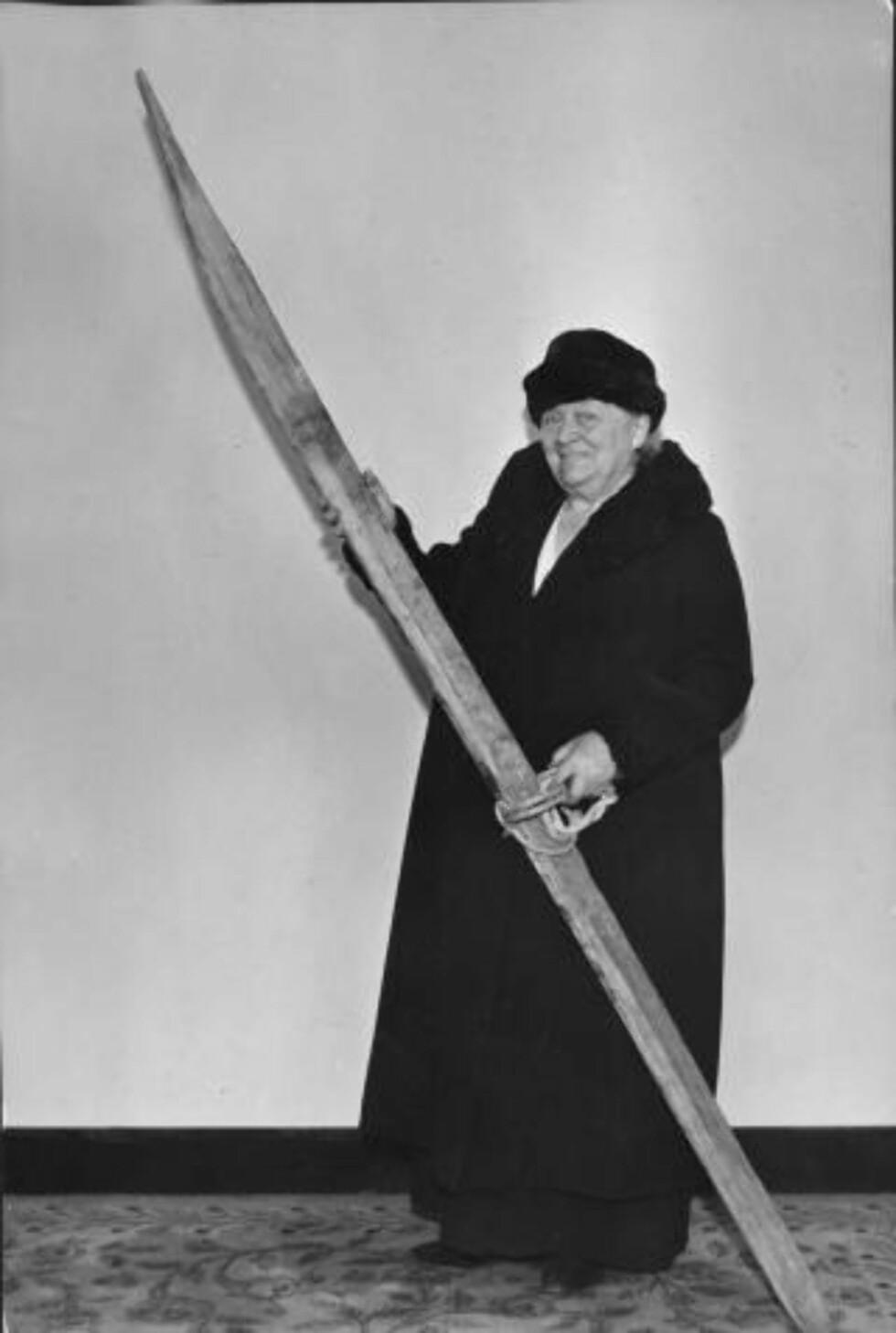 HELTINNE: Kvinnesakskvinne Betzy Kjelsberg er en av heltinenne Siv Jensen trekker fram i sin tale. Foto: ACME NEWSPICTURES/SCANPIX