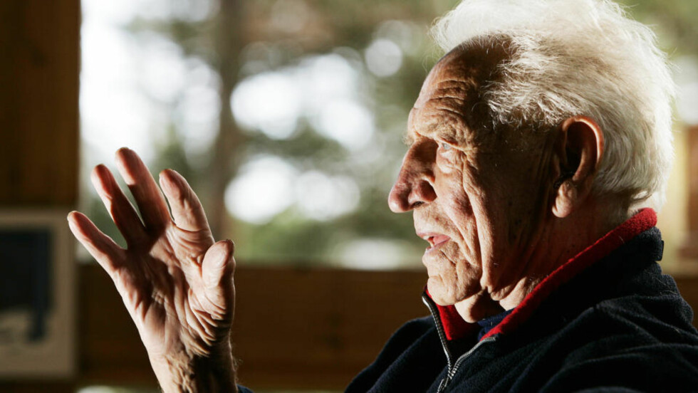 GIKK BORT I DAG: Arbeiderpartilegenden Haakon Lie er død, 103 år gammel. Foto: HEIKO JUNGE / SCANPIX