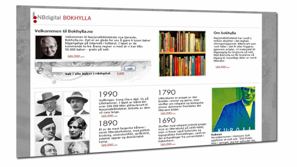 Over 10.000 bøker gratis på nett