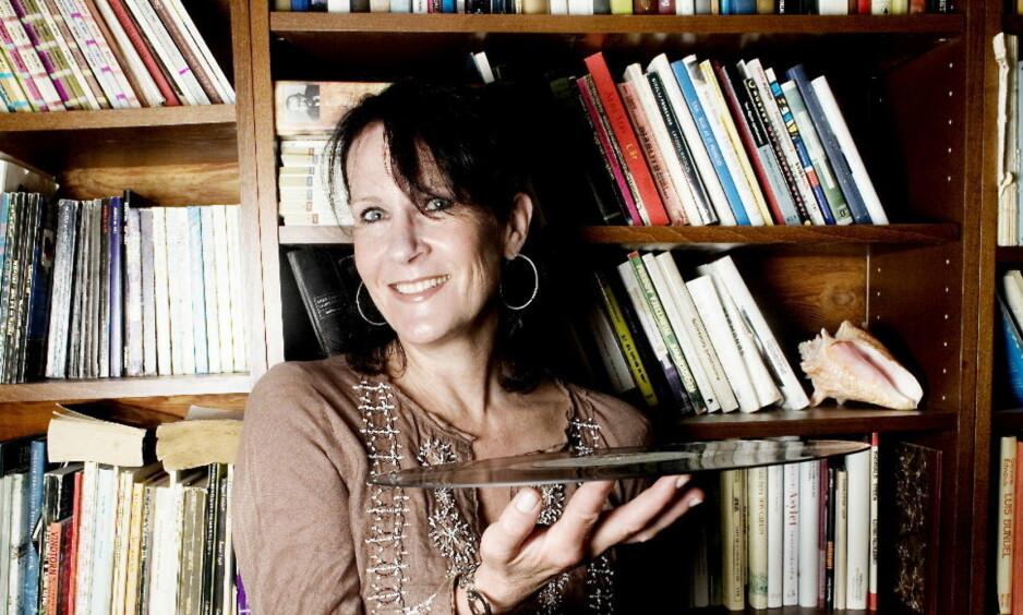 VINNER: Vigdis Hjorth ble tildelt bokhandlerprisen for romanen «Arv og miljø» Foto: Linda Næsfeldt