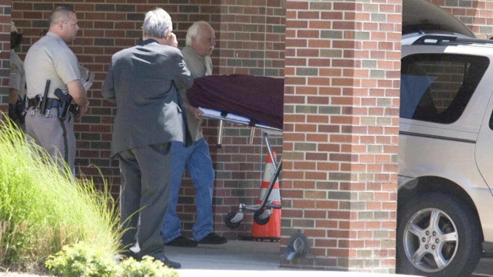 DØDE I KIRKEN:  George Tiller ble drept i kirken der han utførte frivillig arbeid. FOto: AP Photo/The Wichita Eagle, Travis Heying