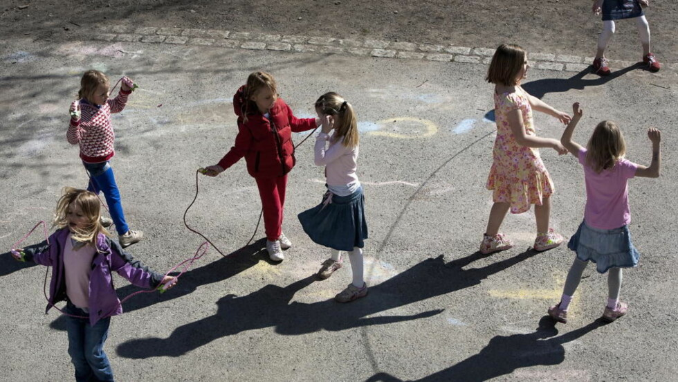 HVIT SKOLE: Bygdøy skole hadde ved siste måling 15 prosent minoritetsspråklige elever. Foto: Henning Lillegård