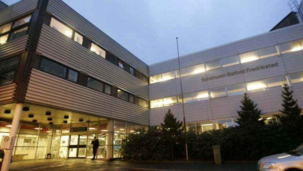 FÅR KRITIKK: Helsetilsynet mener den manglende oppfølgingen fra Sykehuset Østfold kunne fått alvorlige konsekvenser. Foto: Lise Åserud / SCANPIX