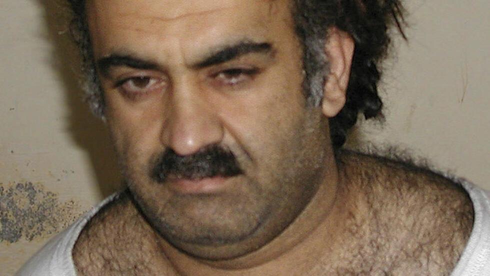 VANNTORTURERT 183 GANGER I FANGENSKAP:  Khalid Sheikh Mohammed ble utsatt for vanntortur under forhør av CIA. President Barack Obama har nå forbud metoden, som er å gi fangen en druknings-opplevelse. Foto: SCANPIX/AP