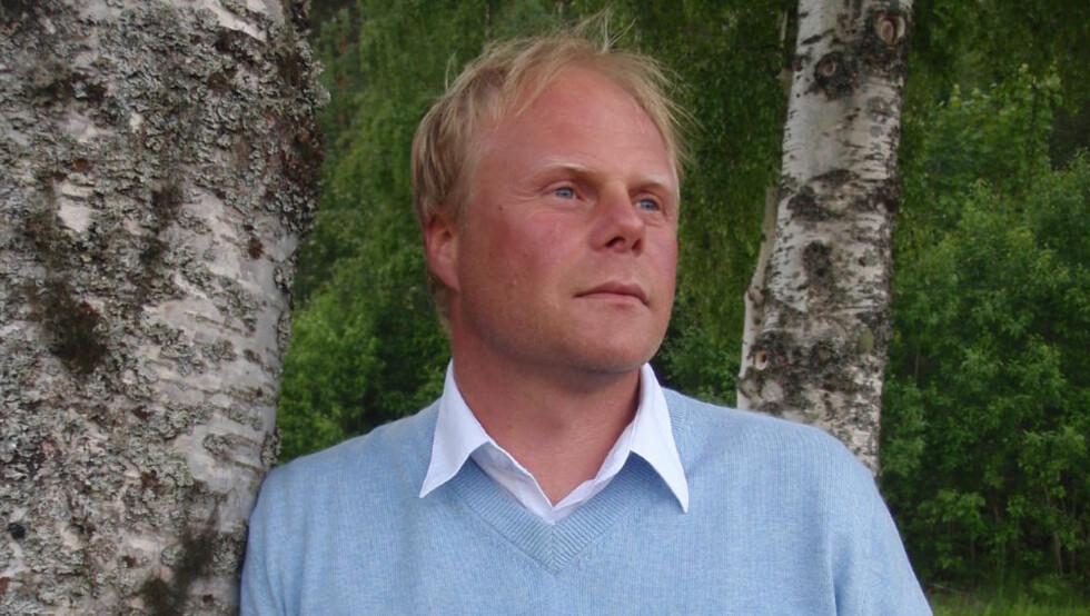 MÅNEDENS POET: Ole-Petter Vaaten skrev det beste diktet på Diktkammeret i mai, mener juryen. Foto: PRIVAT