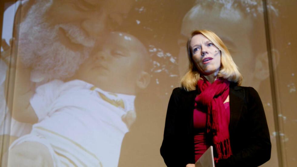 VIL KUTTE KONTANTSTØTTEN: Barne- og likestillingsminister Anniken Huitfeldt. Foto: Heiko Junge/SCANPIX