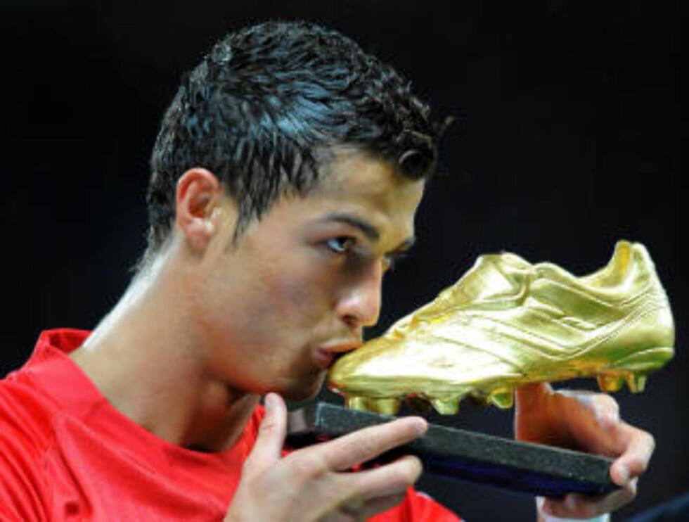 TOPPSCORER: Ingen var mer giftig foran mål enn Ronaldo i fjorårssesongen. Foto:  AFP/ANDREW YATES