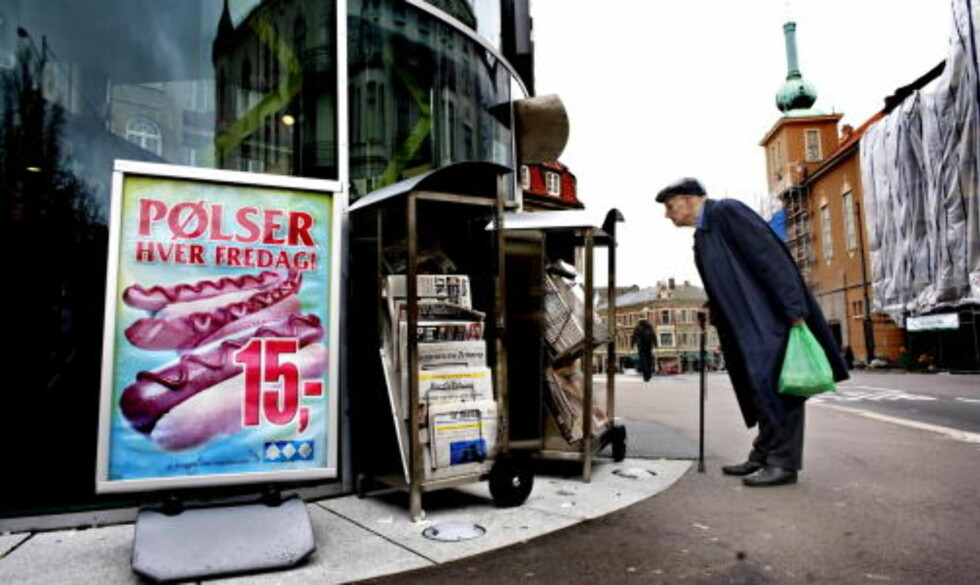 MANGE ELDRE: 1,5 milloner eldre i Norge i 2060, dobbelt så mange som i dag. Foto: Lars Eivind Bones