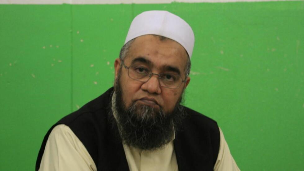 INNTIL VIDERE: Imam Ghulam Nabi skal ha samtykket til at han inntil videre blir permittert fra stillingen. Foto: Terje Løchen