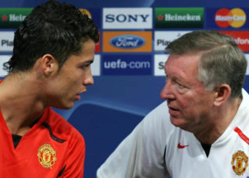 INGEN STØRRE ENN KLUBBEN: Sir Alex Ferguson har tradisjon for å kvitte seg med spillere som setter seg over laget. Foto: AP