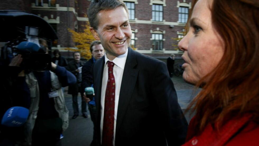 - ARBEIDERPARTIET VANT SAKEN: SV-statsråd Erik Solheim og statssekretær