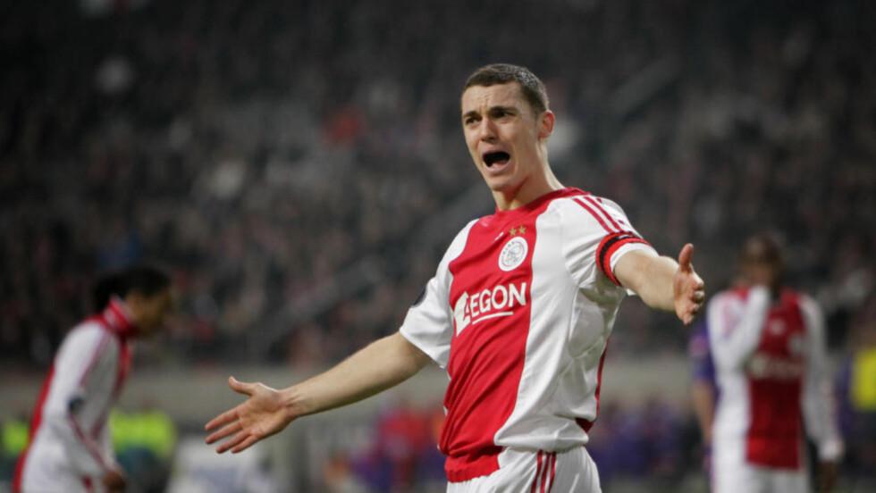 ARSENAL-KLAR: Ajax-kaptein Thomas Vermaelen er klar for Arsenal.Foto: SCANPIX/AP Photo/Peter Dejong