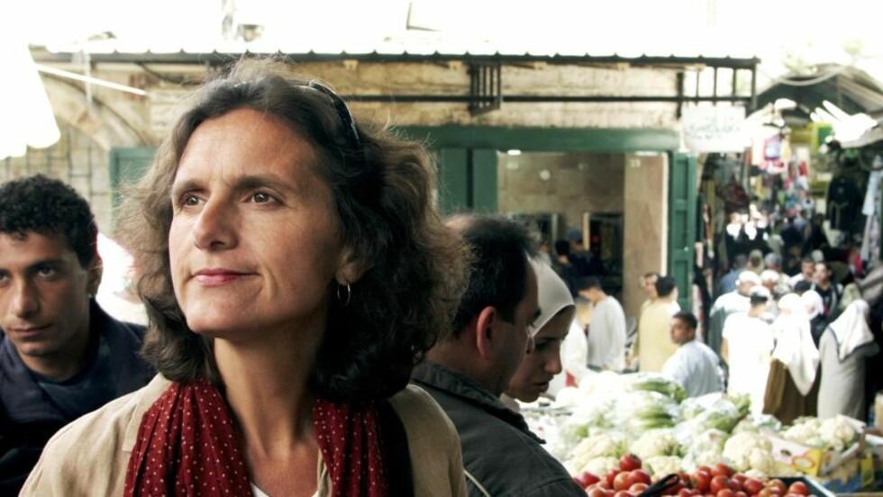 IRAN: NRKs utenrikskorrespondent i Iran, Sidsel Wold. FOTO: Line Fransson