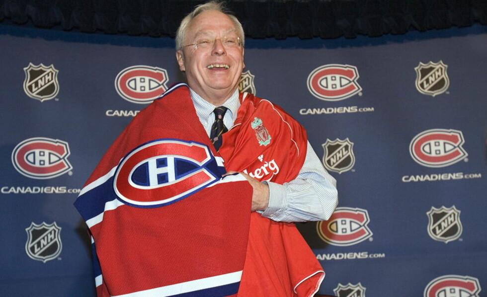DOBBELT OPP: George Gillett er inne på eiersiden både i NHL-laget Montreal Canadiens og Liverpool. Nå selger han seg ut av ishockeyen.Foto: SCANPIX/AP Photo/Paul Chiasson, CP