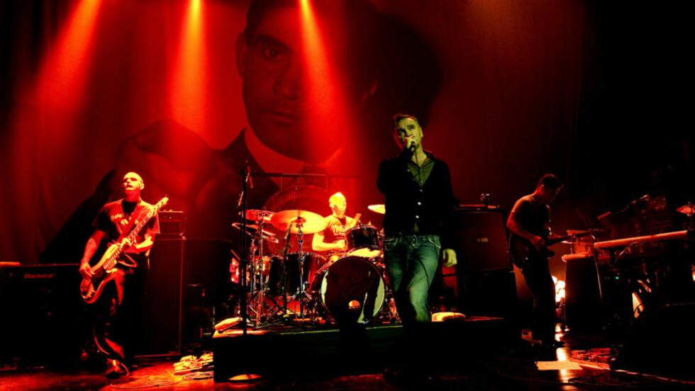 SMITHS I KOFFERTEN: Morrissey dro med gamle slagere og nye, forglemmelige låter. Foto: Henning Lillegård