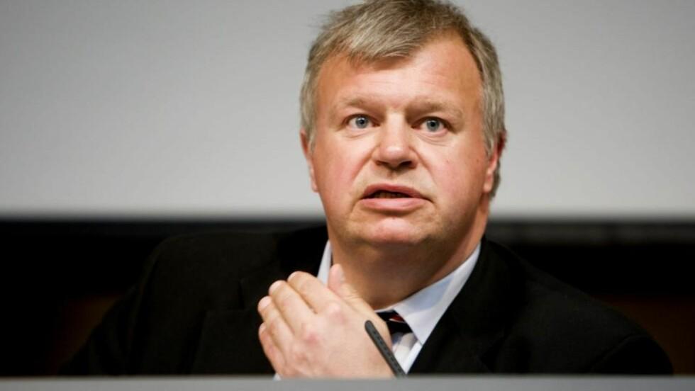 FÅR KRITIKK: Helseminister Bjarne Håkon Hanssen. Foto: Håkon Mosvold Larsen / SCANPIX
