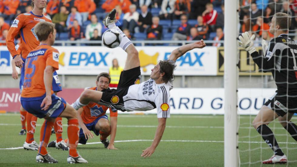 UT I EUROPA: Rosenborg og Vadim Demidov sikret seg en plass i Europa League-kvalifiseringen takket være Fair Play-lista. Foto: Svein Ove Ekornesvåg / SCANPIX