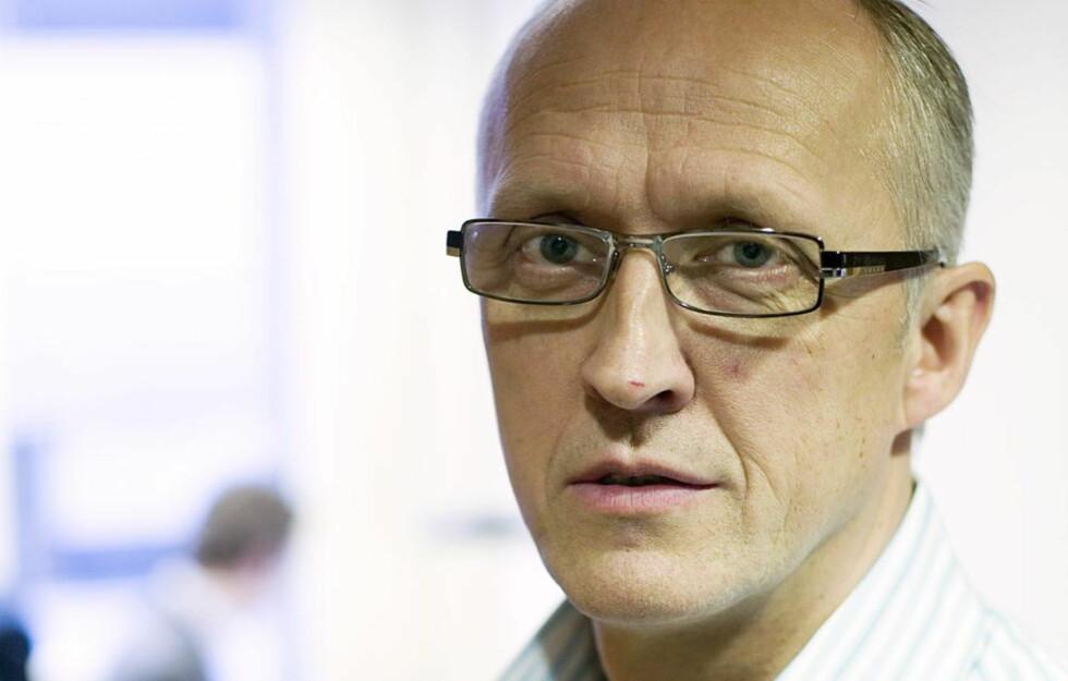 FÅR IKKE OVERVÅKE FILDELERNE: Espen Tøndel og hans medarbeidere i advokatfirmaet Simonsen får ikke fornyet konsesjon til å overvåke ulovlig fildeling på internett. FOTO: BJØRN LANGSEM
