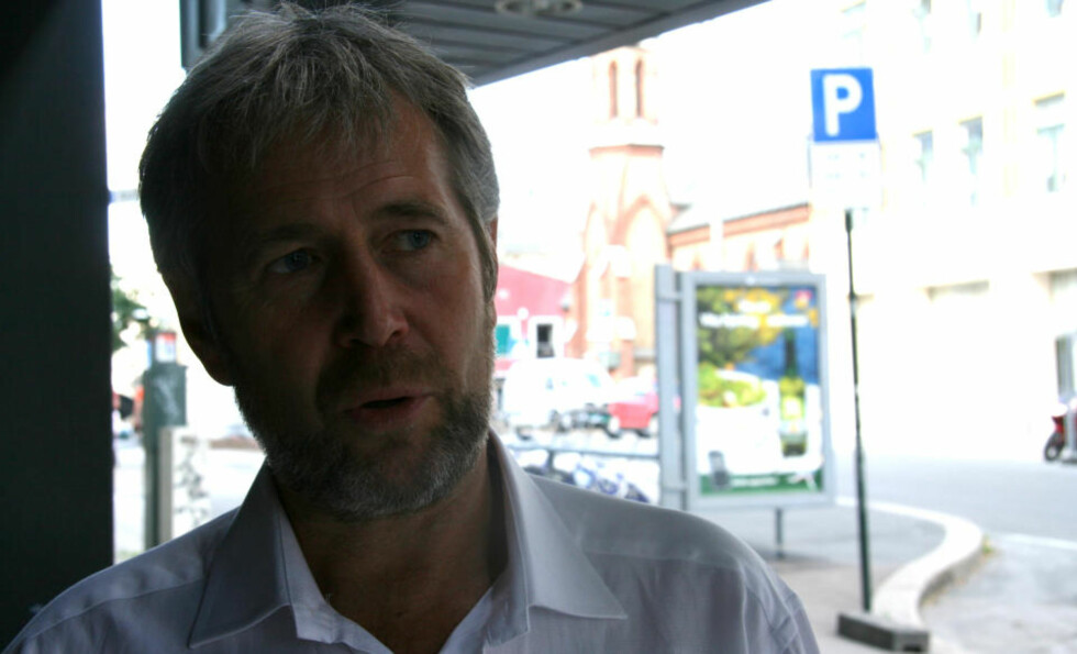 SKUFFET: Leder i Politiets Fellesforbund Arne Johannessen er dypt skuffet over at 30 timers forhandling ikke gikk i boks. FOTO: Jonas Sverrisson Rasch