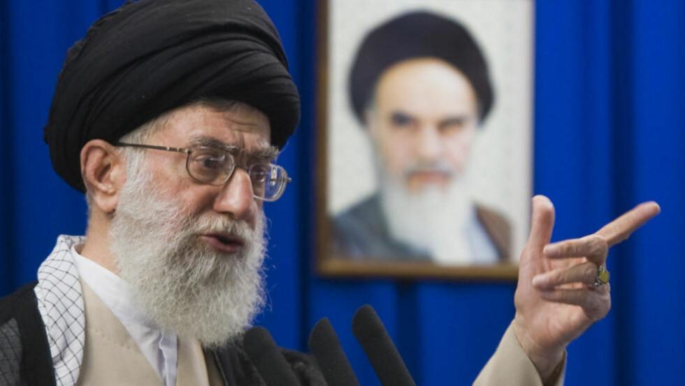 VIL TILBY AVTALE: Ayatolla Ali Khamenei. Foto: Morteza Nikoubazl/REUTERS