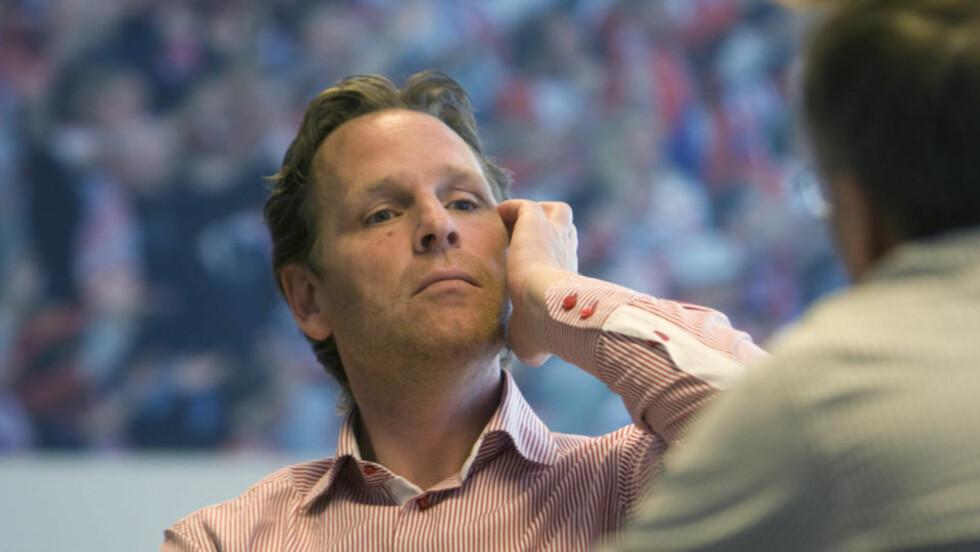 SLITER: Lyn-direktør Erik Langerud er inne i en tung økonomisk tid i Lyn. Fortsatt har klubben til gode å skaffe til veie en betalingsplan for den utestående stadionleien på Ullevål.  Foto: Morten Holm / SCANPIX