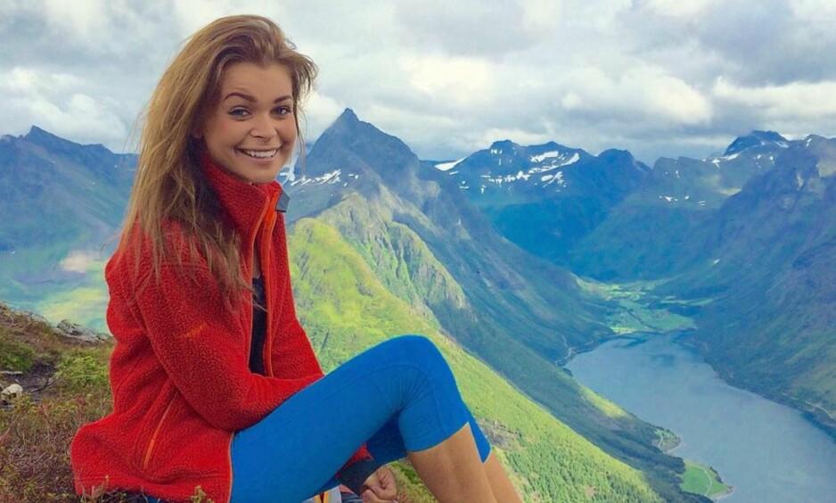 NY VÆRDAME: Denne uka ble det kjent at Kristina Kvistad Hustad fra Sæbø blir TV 2s nye værmelder. Foto: Instagram/ privat