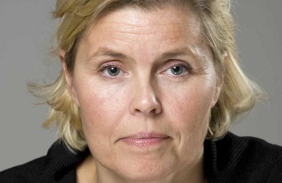 HISSIG: President Marie Modal i Veterinærforeningen er skuffet over landbruksministerens uttalelser som hun kaller «sleivete» og «unyansert». Foto: Veterinærforeningen.