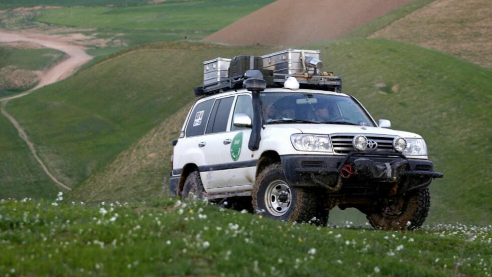 FÅR IKKE ERSTATNING: Statens Pensjonskasse mener at en norsk Afghanistan-soldat, som ble skadd i en risikofylt militæroperasjon i en Toyota Landcruiser, ikke har krav på erstatning. Arkivfoto: Lars Magne Hovtun, FORSVARET / SCANPIX