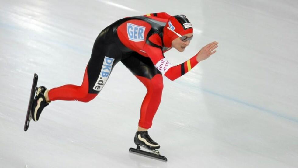 HEVDER SIN USKYLD: Claudia Pechstein mener hun har blitt lurt av Det internasjonale skøyteforbundet. Foto: AP