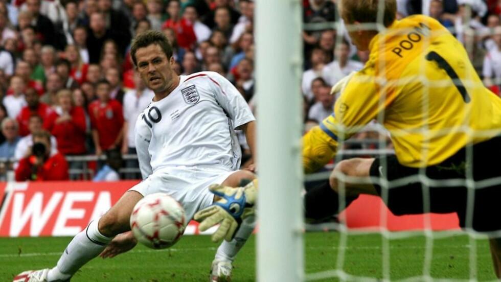 NYE ENGLAND-SJANSER: Michael Owen håper overgangen til Manchester United vil gi ham flere sjanser på landslaget. Foto: EPA
