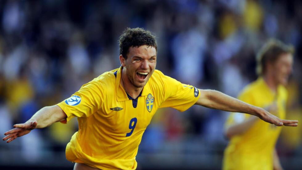 ETTERTRAKTET: Svenske Marcus Berg ble toppscorer i U21-EM, og han er nå ønsket av flere europeiske storlag. Foto: AFP