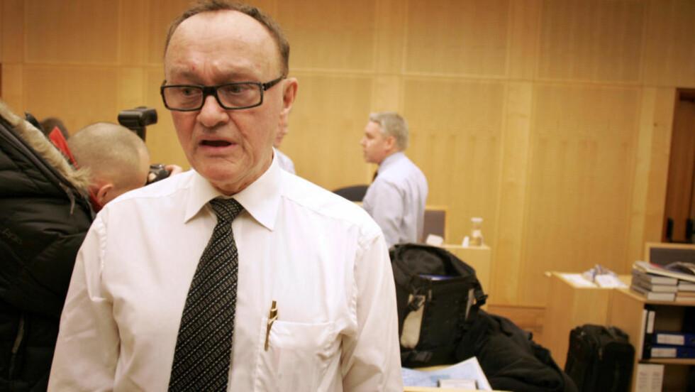 VURDERER MOTANMELDELSE: Advokat Sverre Næss sier hans klient vurderer motanmeldelse etter voldtektssiktelsen på Romerike. Foto: Sara Johannessen / SCANPIX .