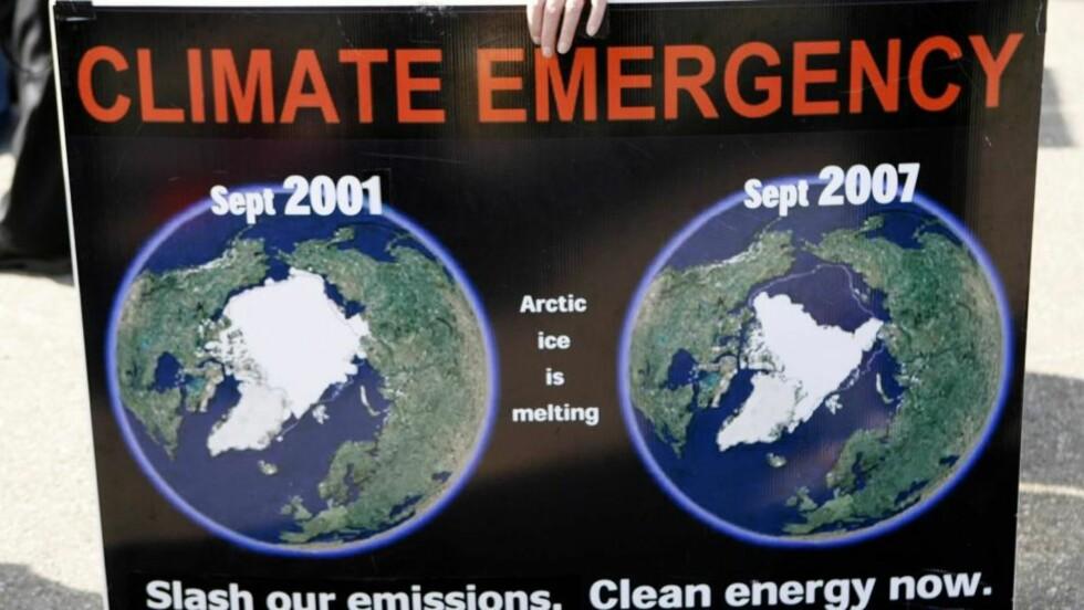 KLIMAENDRING: 60,5 prosent tror at klimaendringene vil påvirke livene deres de neste ti årene, viser en fersk spørreundersøkelse. Det er velgerne på venstresiden som er mest sikre på at vi kommer til å merke klimaendringene. REUTERS/Daniel Munoz