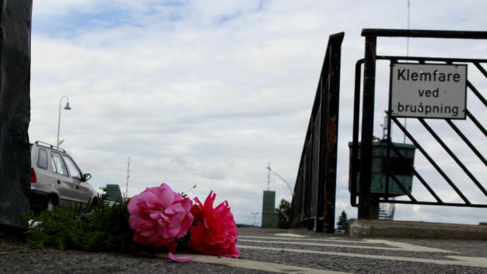 OMKOM: En 84 år gammel dame omkom da klaffene på Porsgrunnsbrua åpnet seg. Foto: Torbjørn Berg/DAGBLADET
