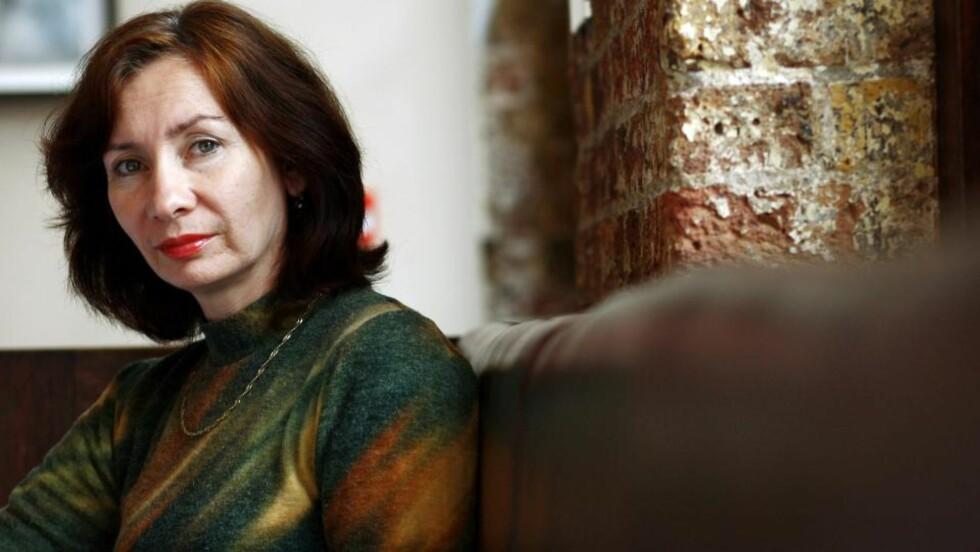 MÅTTE BØTE MED LIVET: Aktivisten og journalisten Natalia Estemirova er blitt drept i Ingusjetia. Foto: REUTERS/Dylan Martinez/Files/Scanpix