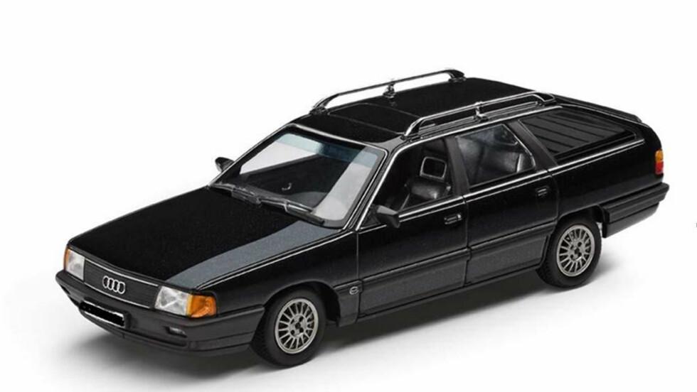 ETTERLYSER BIL: Politiet vil ha tips om en Audi 100 Avant. Illustrasjonsfoto: POLITIET