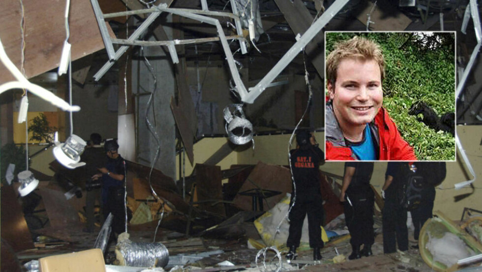 EVAKUERTE: Norske Thomas Granrud (22) fikk beskjed om å holde seg unna tett befolkede områder. Foto: Privat/Scanpix
